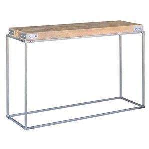 Nadi Mango Wood Timber and Metal 120cm Console Table