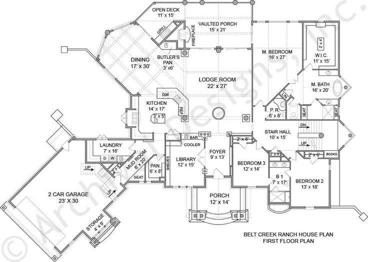 custom luxury home floor plans. Belt Creek Ranch  Lakefront Floor Plan Luxury Best 25 floor plans ideas on Pinterest Dream house