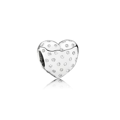 Sparkle of love, clear cz - 791241CZ - Charms | PANDORA