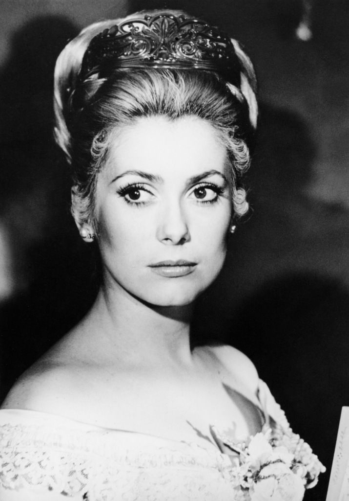 Catherine Deneuve as a very young Sybilla Semple (pre-series The Lymond Chronicles)