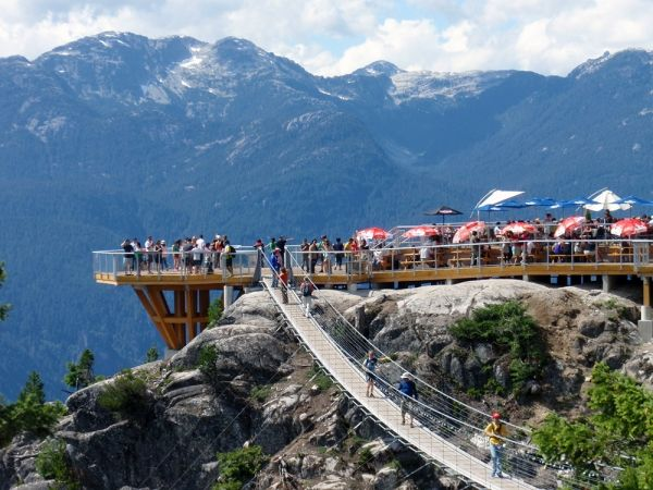 Sea to Sky Gondola beckons lazy day-trippers to Squamish--and into downtown