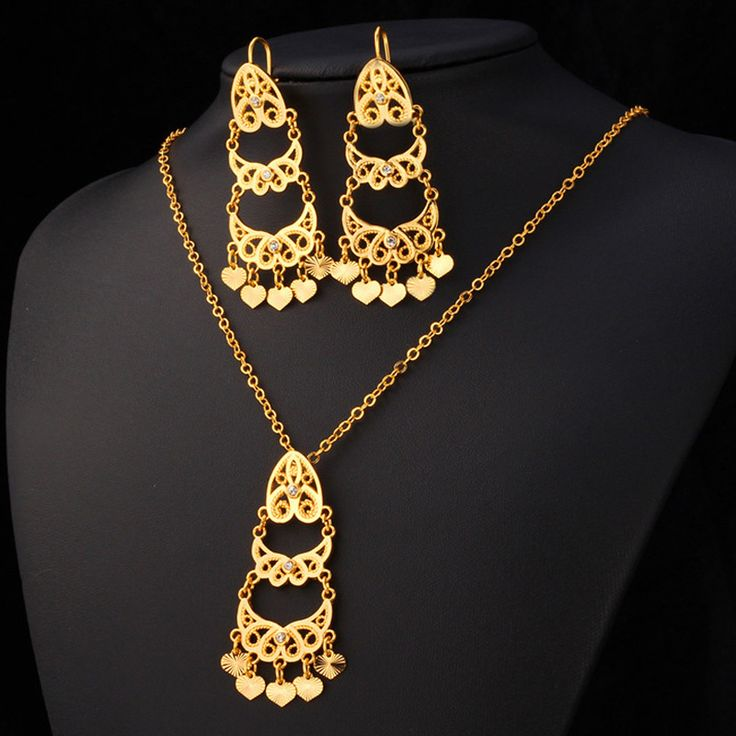 Cheap Jewelry Sets, Buy Directly from China Suppliers:                         18K Gold Jewelry Rhinestone Pendant Necklace Earrings Set Women Trendy 2015 New Fashion 1