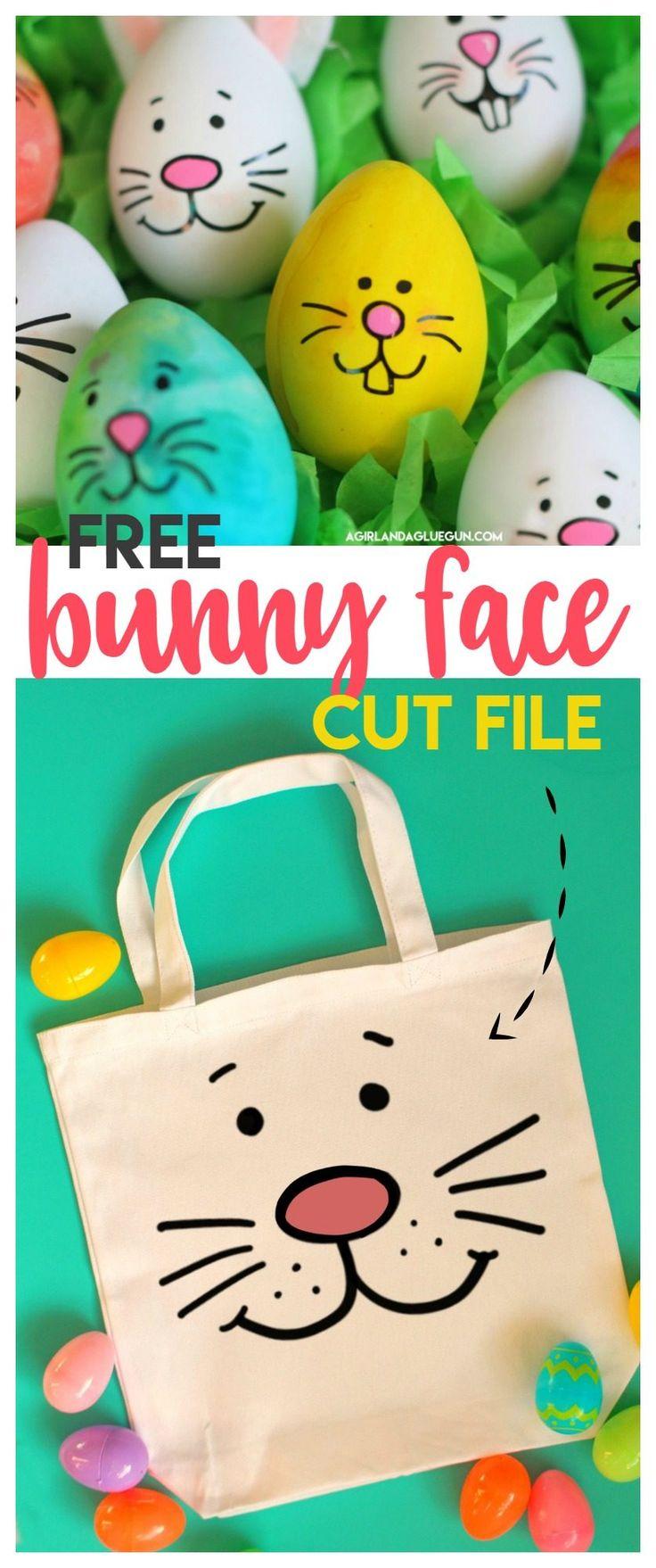 free bunny face cut file