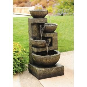 garden fountains home depot