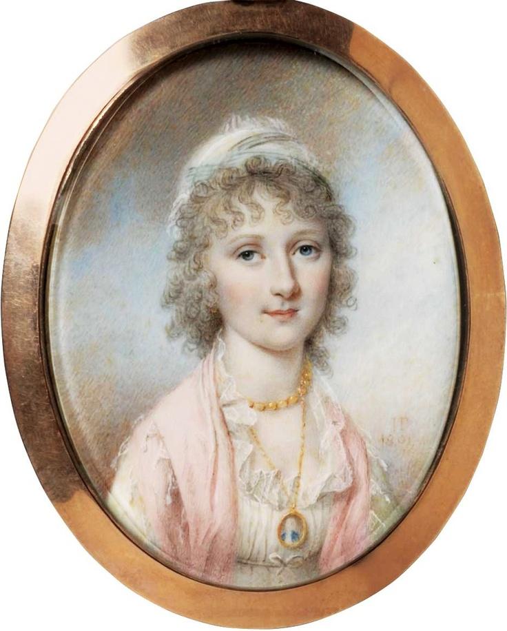 James Peale (1749-1831), Maria Bassett, 1801.: James Of Arci, Antiques Portraits, James Peal, Portraits Miniatures, James D'Arcy, Colors Portraits, 17Th 19Th Century, Miniatures Portraits, Maria Bassett