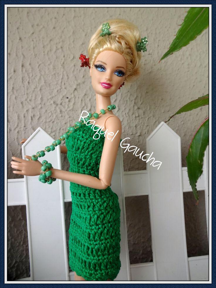 2514 besten Vestidos en crocheth para muñeca Bilder auf Pinterest ...