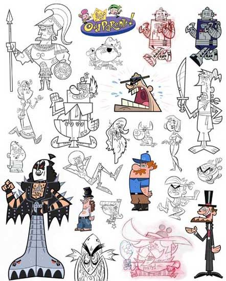 Character Design Nickelodeon : Best butch hartman style images on pinterest other