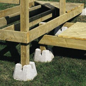 Ground Level Deck Landscaping
