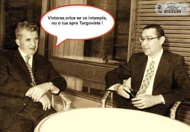 Semn bun: V.V. Ponta a fost văzut astăzi prin Târgovişte. Zidul e aproape...