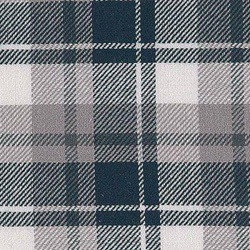 501230 Flannel børstet blå/grå tern