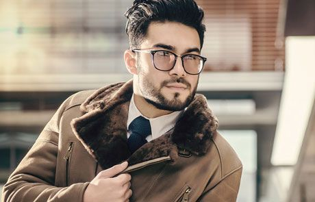 Cojoace geci scurte si lungi paltoane si haine din piele blana naturala fabricate in Romania pentru barbati