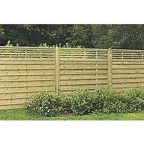 Forest Kyoto Fence Panels 1.8 x 1.8m 9 Pack