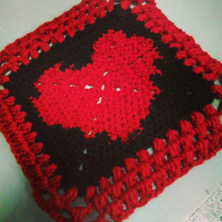 Corazón croché