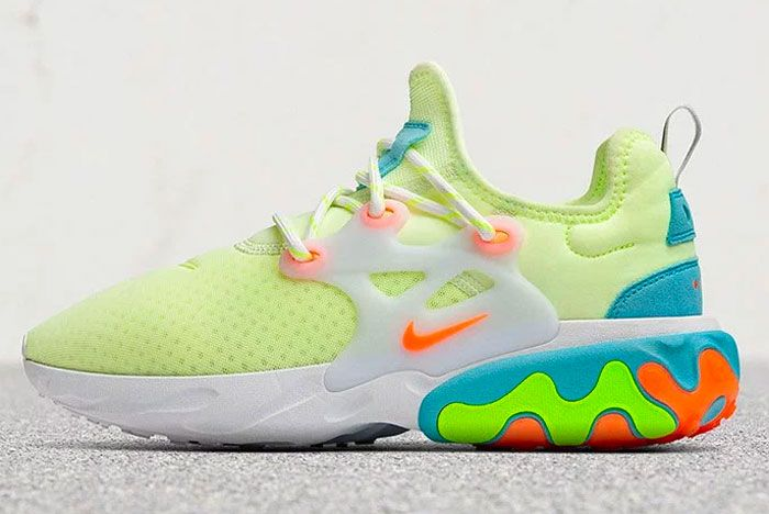 Nike Light Up A Neon Presto React Womens Sneakers Sneakers Nike