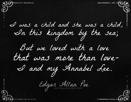 Edgar Allan Poe -Annabel Lee