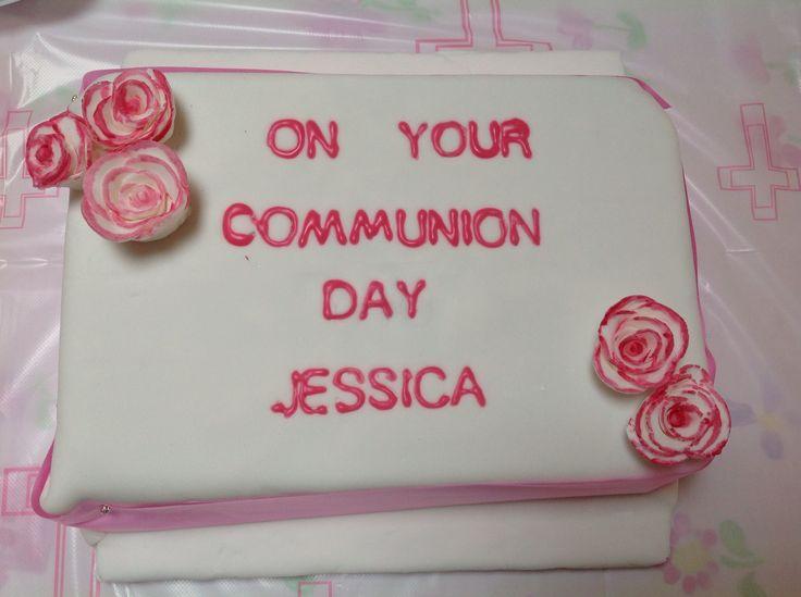 Jessica's communion cake