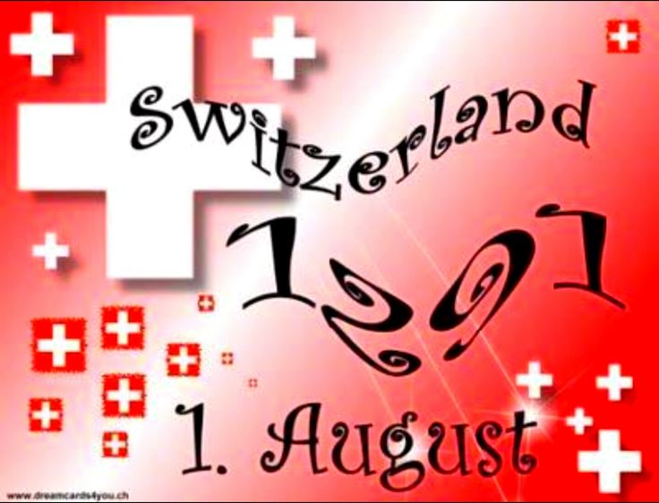 Happy Swiss National Day !
