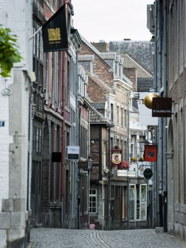 Stokstraat (Stok Street), Maastricht, Limburg, the Netherlands