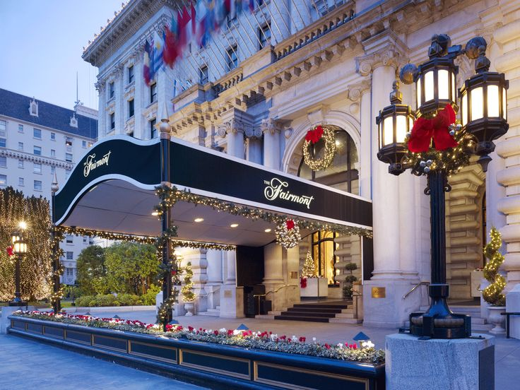The Fairmont San Francisco Hotel Choice Hotels Luxury Deals In United States Pinterest And