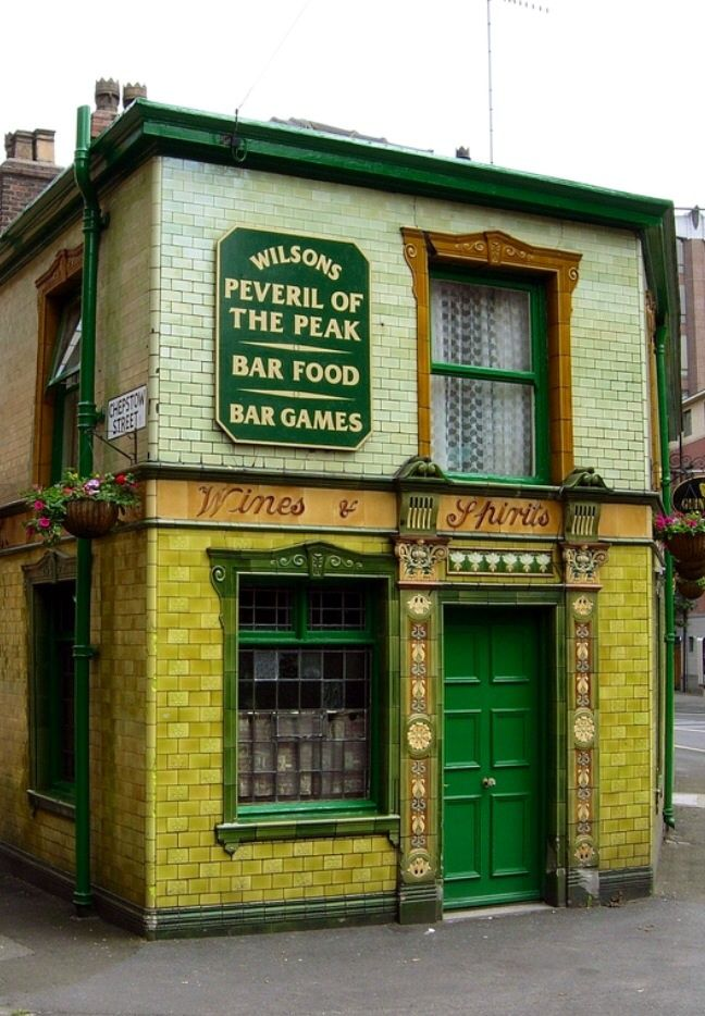 The 'Pev' (Peveril of The Peak), Manchester, England, United Kingdom, 2010, photograph by The Quaffer Saved for you by Venus Flowers,Manchester, your florist in Manchester.