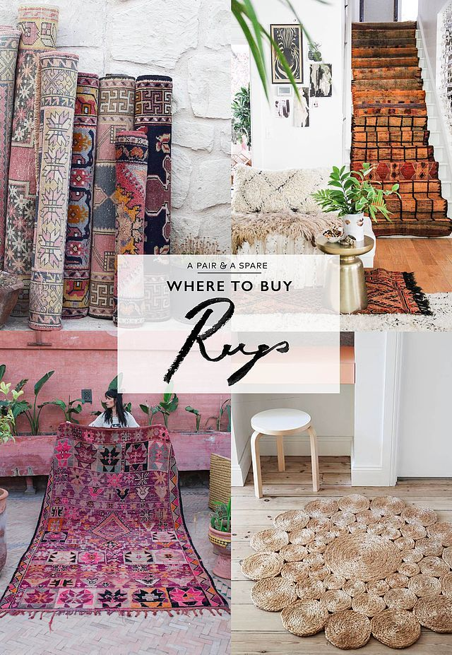 So, now that you know about all our favourite rug types, you probably want to know where to buy them, which is why we're more than happy to show you where to buy rugs online. Rugs are definitely those