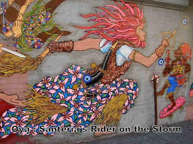 Oya: Santeria Rider on the Storm