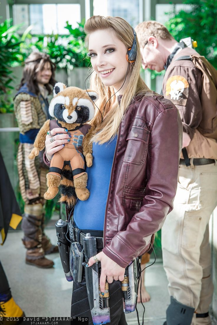 Star-Lord and Rocket Raccoon | Emerald City Comicon 2015 #DTJAAAAM