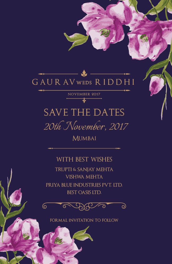 449 best Wedding invitations images on Pinterest Indian bridal - best of handmade formal invitation card