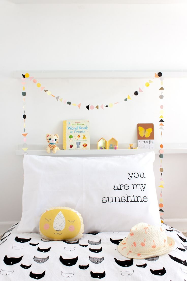 You are my sunshine   Children room girl, Kids room inspiration ...