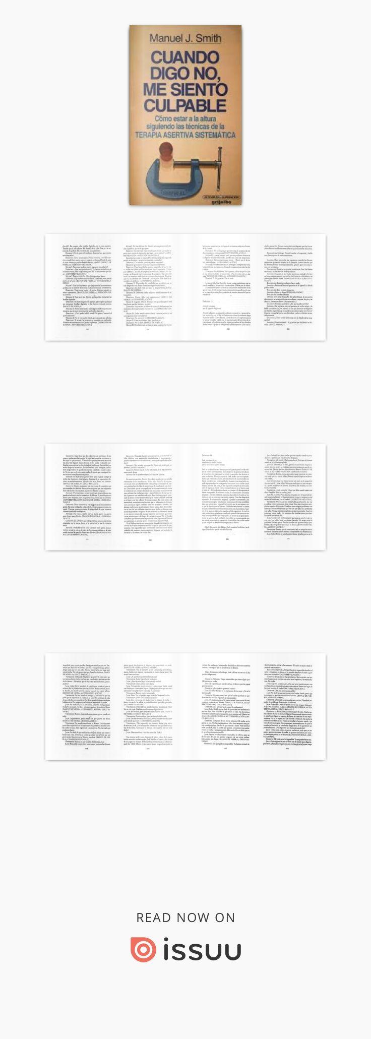 Best 25 grijalbo ideas on pinterest fotografa en secuencia grijalbo smith manuel j cuando digo no me siento culpable fandeluxe Image collections