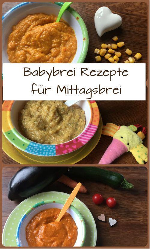 Babybrei-Rezepte für Mittagsbrei