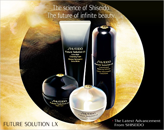 THE best for us old gals....Future Solutions, Solutions Lx, Shiseido Future, Solutions Luxury