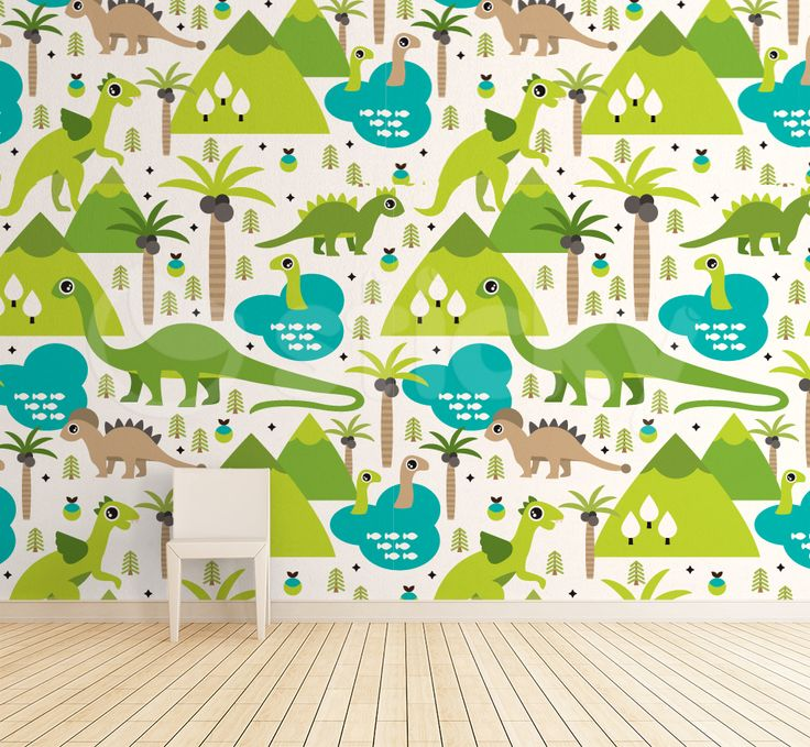 Dinosaurs Wallpaper by Sticky!