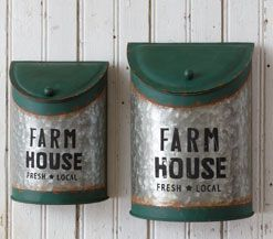 Farmhouse Wall Bins, Antique Shopkeepers Desk Organizer, Galvanized Flour and Sugar Canisters, Cotton Wreath, White Enamel Measuring Cups, Wicker Trunk Baskets, Bulbs and Seeds Metal Box Set, Vintage Style Nesting Herb Crates, Glass Jar Firefly String Light, Creamware Sugar and Creamer Set, Vintage Style Enamel Storage Containers, Vintage Industrial Style Hardware Bin, Bakersfield Wood and Metal Display Pedestals, Wire Storage Baskets with Lids, Vintage Industrial Style Hardware Bin Lazy…