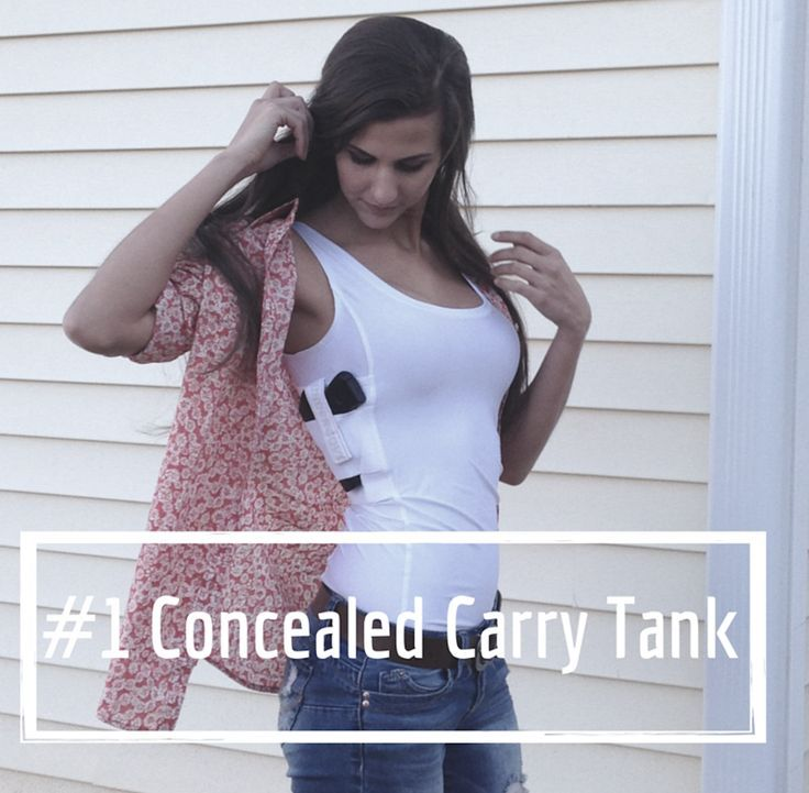 "The #1 Concealed Carry Tank Top for Women. made in the USA by Undertech Undercover. ""Why Carry Your Gun? When You Can Wear It!"" CCW, Concealed Carry Holster, Concealed Carry Shirt, Concealed Carry Clothing - plus sized womens clothing, online shopping womens clothing, sale for womens clothing"