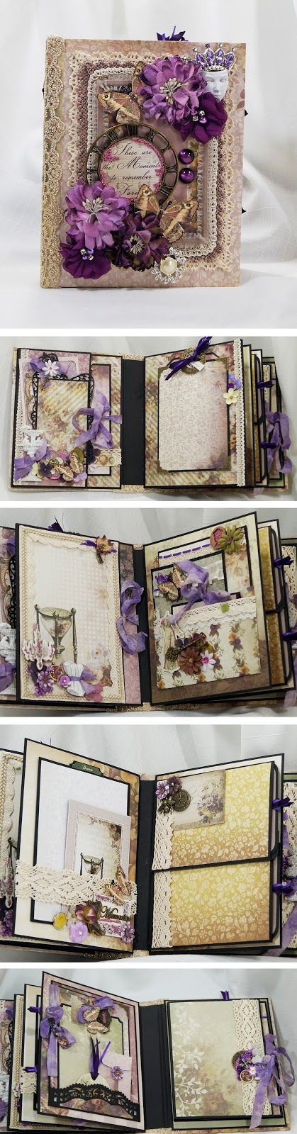 Terry's Scrapbooks: Couture Creations - Hearts Ease Mini Album