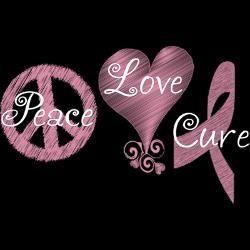 Cancer ribbons breast survivor