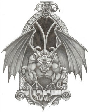 Gargoyles protect your home