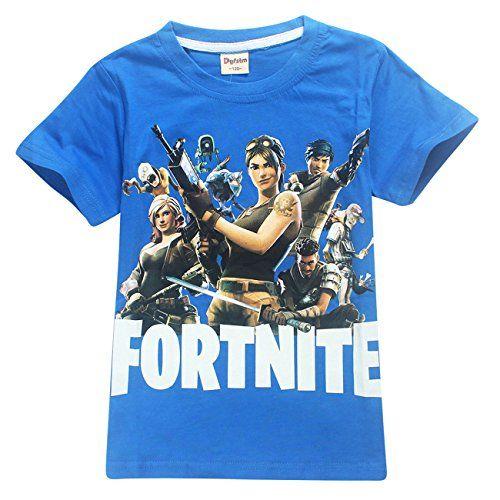 ZIGJOY Fortnite Gaming Gamer Unisexe <b>Cotton</b> T-Shirt <b>Top</b> Tee ...