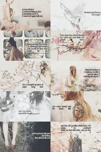 I Almost Do. Holy Ground. Red. Treacherous. All Too Well. The Last Time. Starlight. State of Grace. Sad Beautiful Tragic.  The Lucky One.