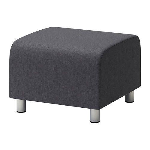 KLIPPAN Puff IKEA Varier gjerne med ekstra trekk for å fornye sofaen og rommet. Trekket er enkelt å holde rent, det kan tas av og vaskes i maskin.