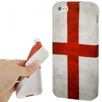 iPhone 5/5S Cases : Retro England Flag TPU Case for iPhone 5 & 5s