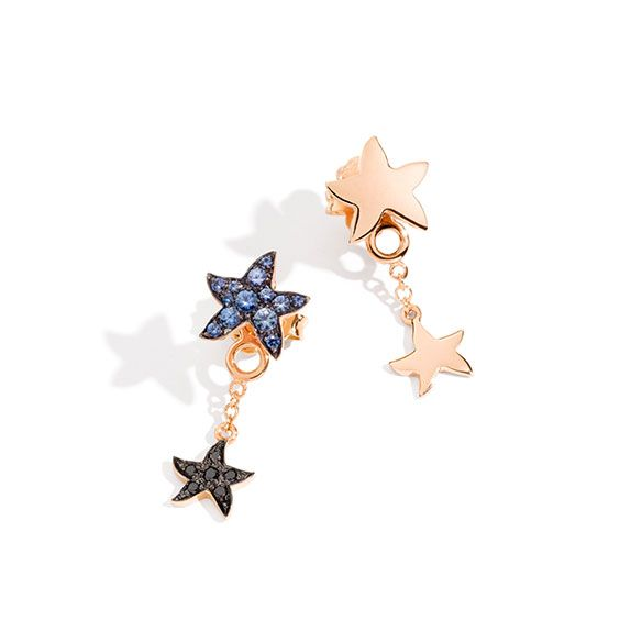 Every star is special. Make it shine the most!  Compose your creation with Dodo earrings Jacket and Starfish stud earrings