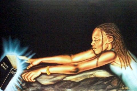 Black Religious Art - At The Edge II - Fred Mathews