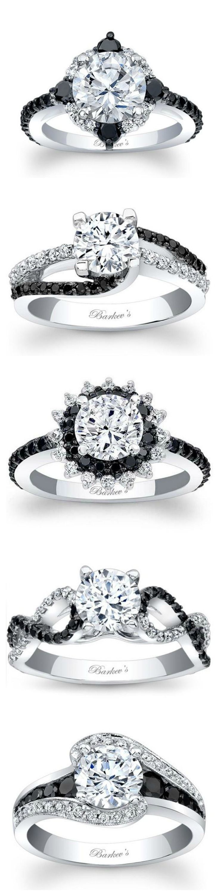 Barkev's Black Diamond Engagement Rings from Ben Garelick Jewelers