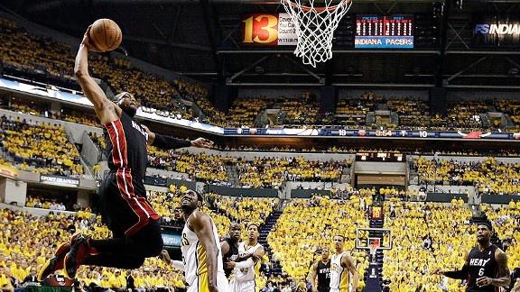 Dwyane Wade dunk - Game 6 vs Pacers