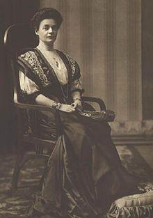 Tsaritsa Eleonore of Bulgaria, wife of Ferdinand I of Bulgaria.