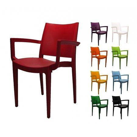 Design tuin/terrasstoel Veloso in 10 kleuren