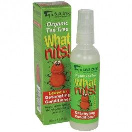"""""""What Nits!"""" This light leave-in detangling conditioner is designed to help protect against re-infestation of head lice.  #childrenshealth"""