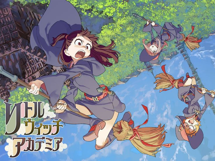 Little Witch Academia by Studio TRIGGER